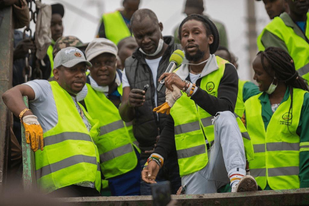 Jah Cure in Nairobi