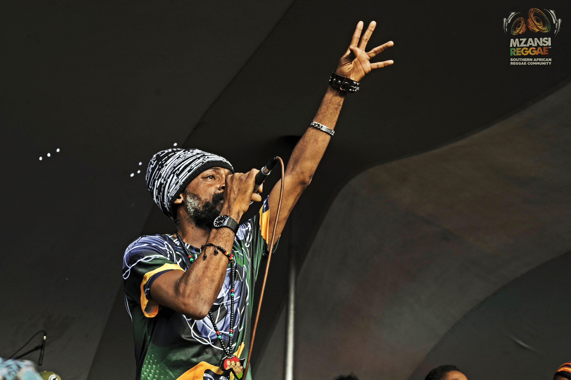 Lutan Fyah Monwabisi Beach Reggae Legend Sunsplash