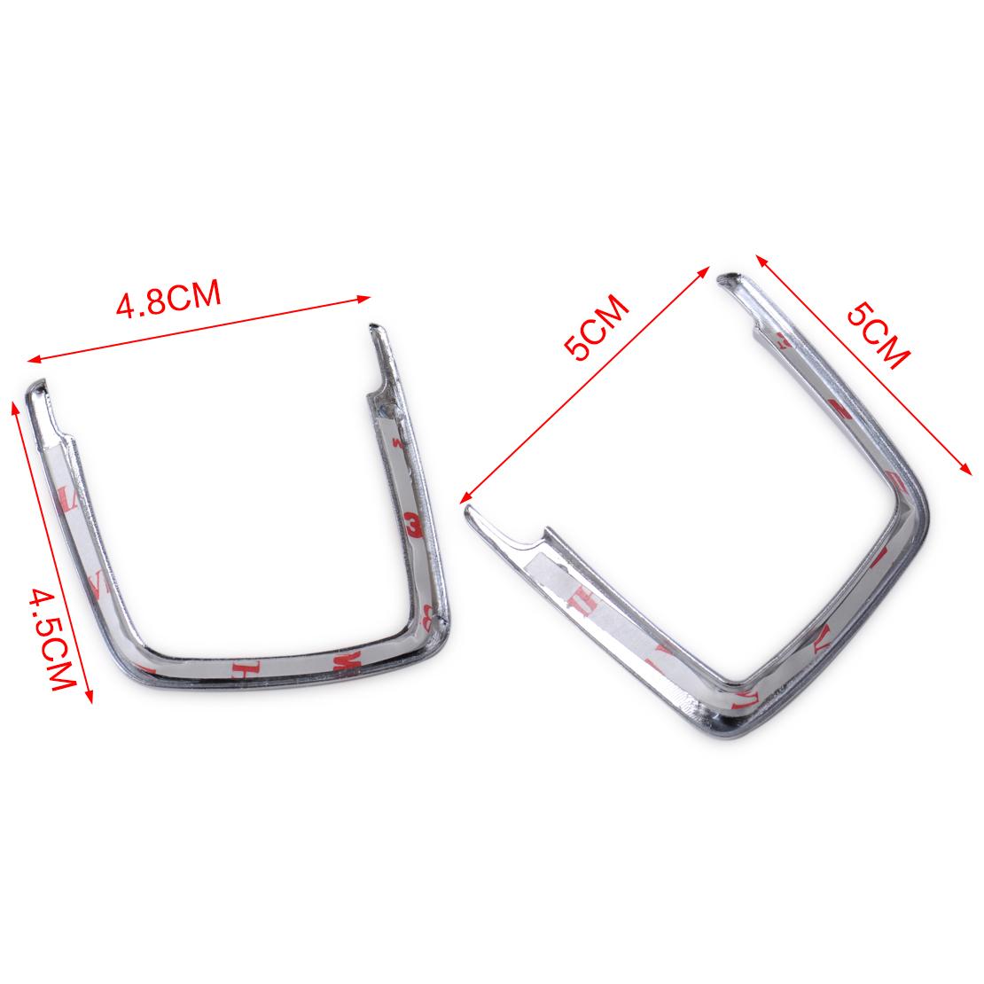 Chrome Headlight Switch Trim Cover For Bmw F30 F31 F32 F34