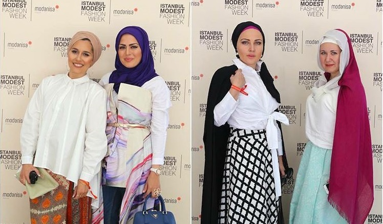 Istanbul s Modest Fashion Week   Mzlim Guests at the modest fashion week   Istanbulmodest Instagram