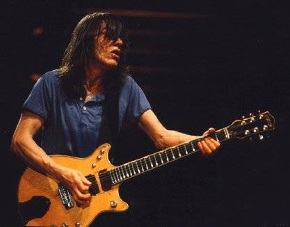 GRETSCH G6131MYF MALCOLM YOUNG FLAMED 2 PICKUP