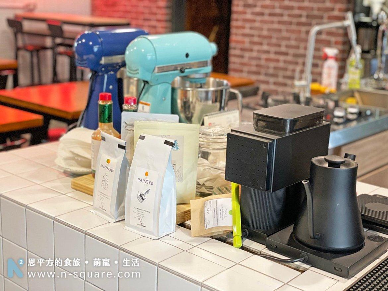 瑪仕特羅股份有限公司的咖啡機還有咖啡豆