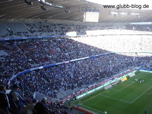 Nordkurve 1860 München gegen FC Nürnberg