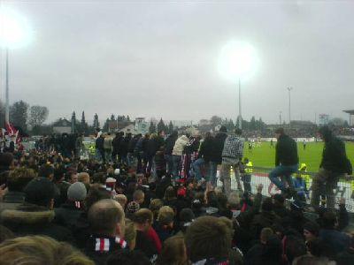 Torjubel 3:0 von Nürnberg in Ingolstadt