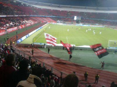 Torjubel nach dem 4:0-Treffer von Marek Mintal gegen Rostock