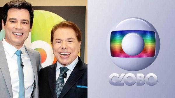 Celso Portiolli na Globo convite Silvio Santos SBT