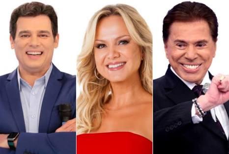 Celso Portilli e Eliana pode preencher parte do horário de Silvio Santos. (Foto: Reprodução)