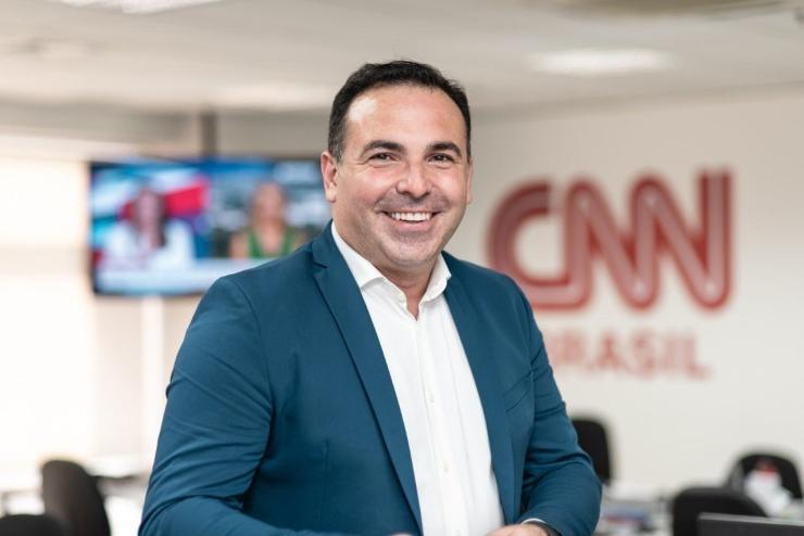 Reinaldo gottino deixa a CNN Brasil e volta para Record