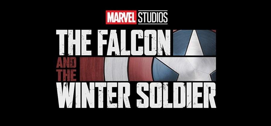 (O logotipo oficial da série 'Falcão e o Soldado Invernal' / Foto: Marvel Studios / Reprodução)