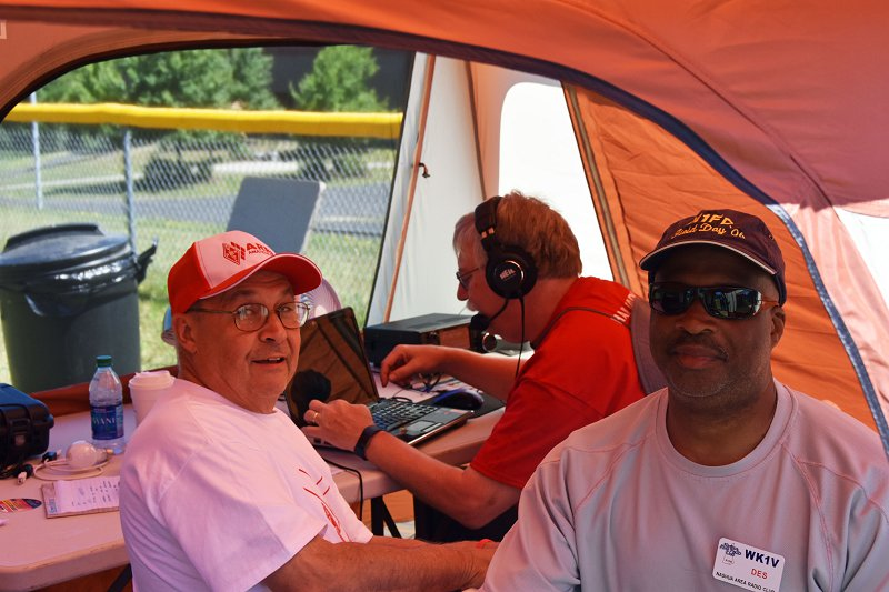 Ham Radio Fun At Field Day