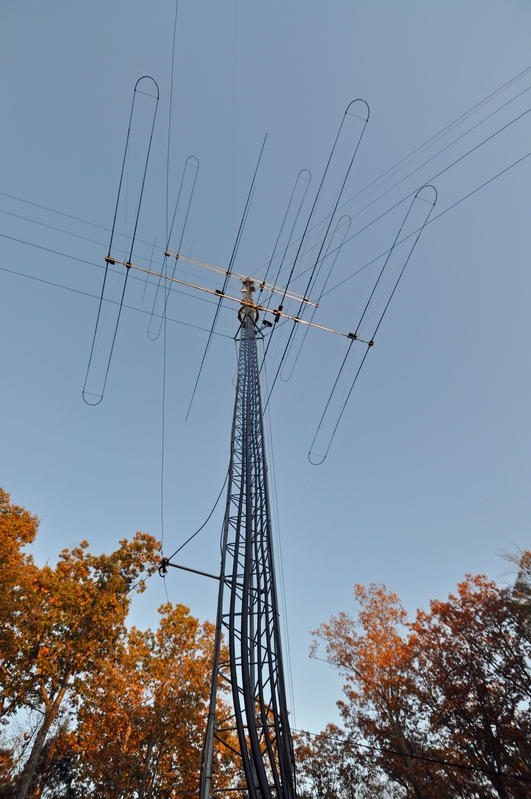 AB1OC Antenna Tower