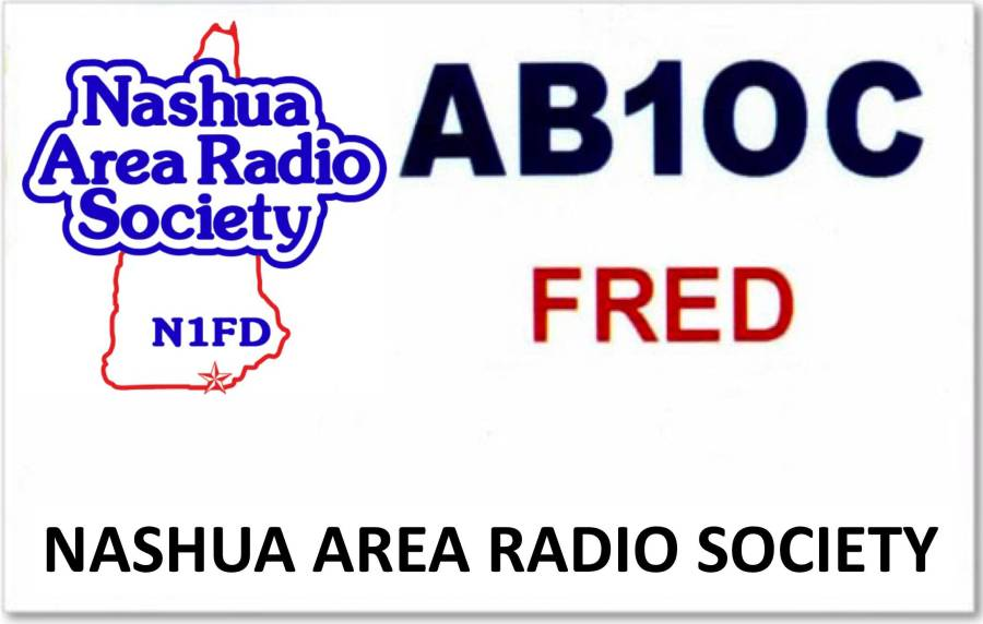 Nashua Area Radio Society Sample Name Badge