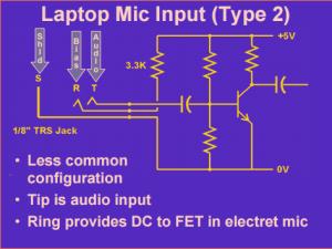 Rig Audio Interface Schematic