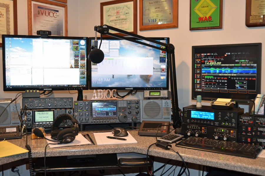 Station setup for the Rookie Roundup SSB