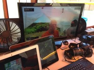 DATV Station QSO 1