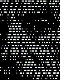 Morse Code Illusion Detail