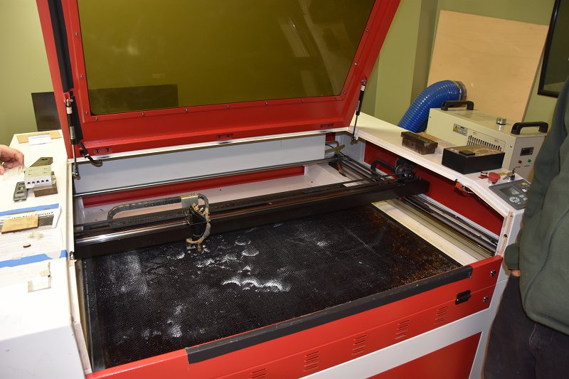 CNC Laser Cutter at MakeIt Labs