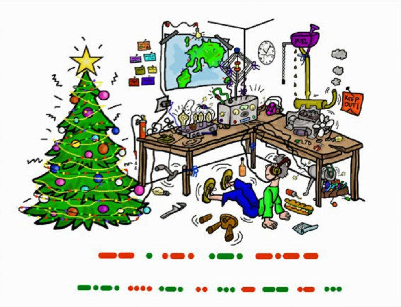 Ham Radio Merry Christmas