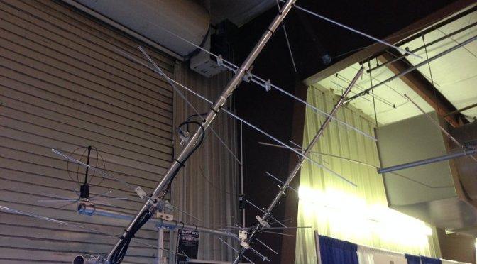 Satellite Antenna - M2 Antenna Systems LEO Pack on display at Dayton 2016