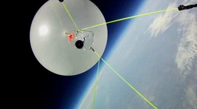 High Altitude Balloon near Apogee