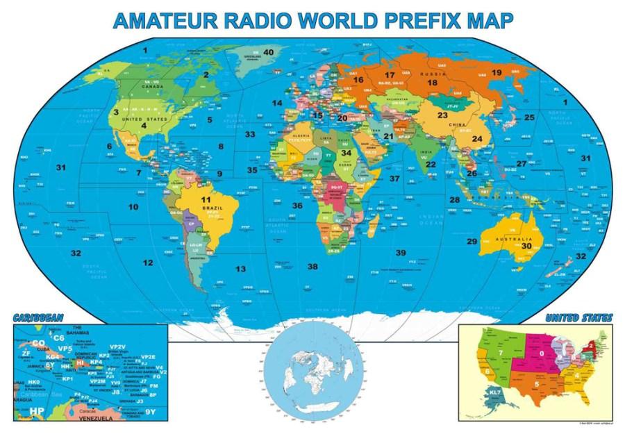 Why Ham Radio - Amateur Radio Map of the World