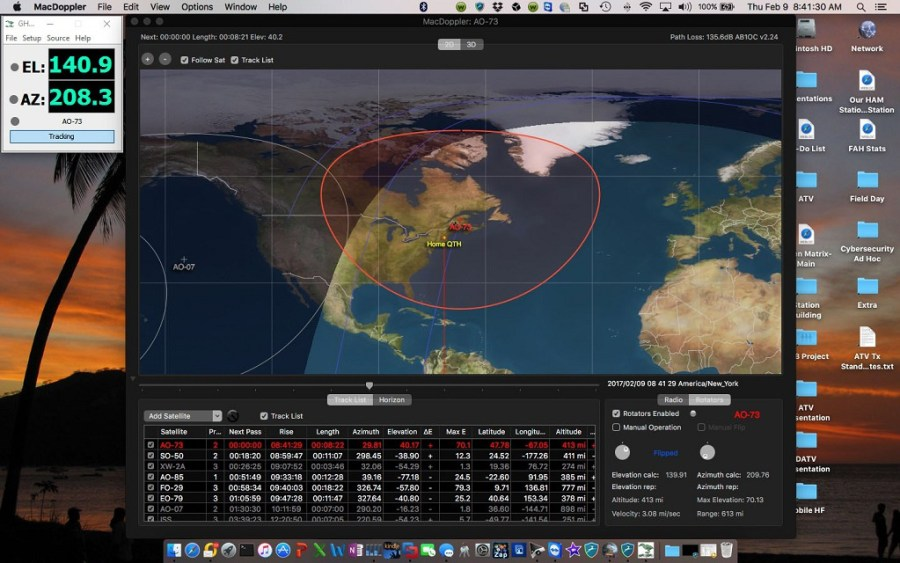 Satellite Station - Radio Management via MacDoppler