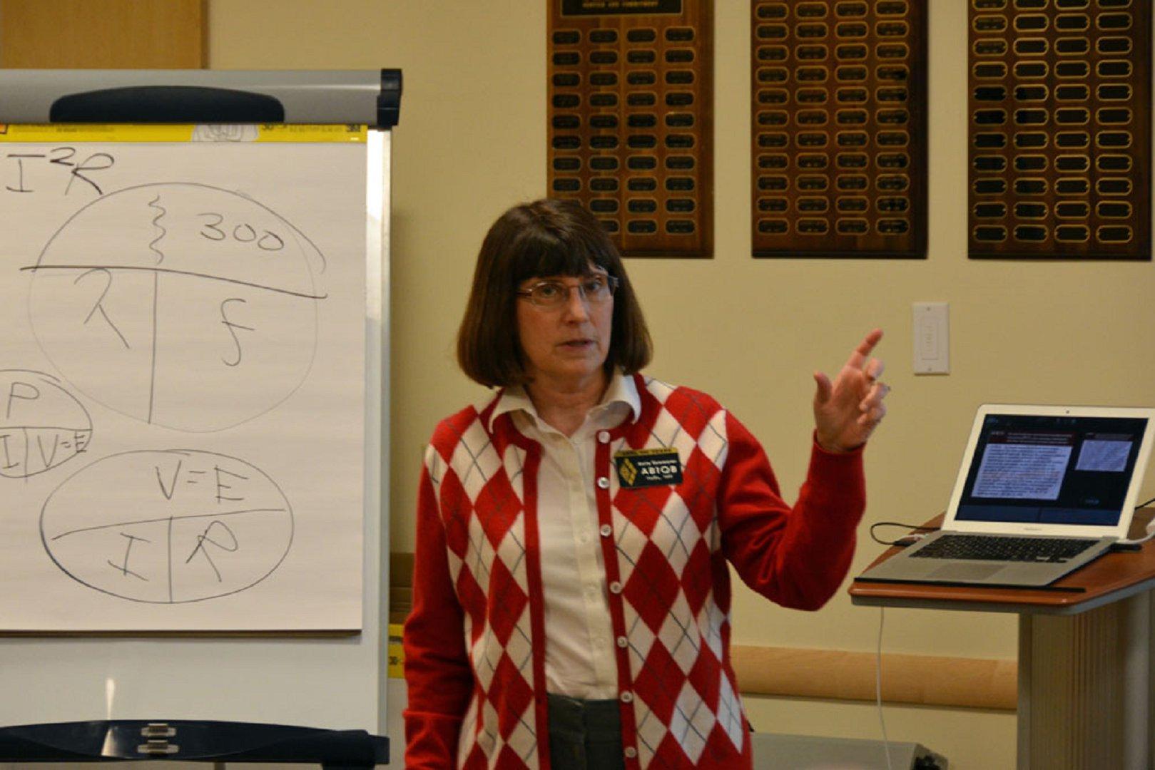 Anita Teaching