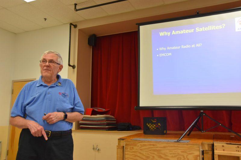 Burns Fisher, W2BFJ On Amateur Satellites