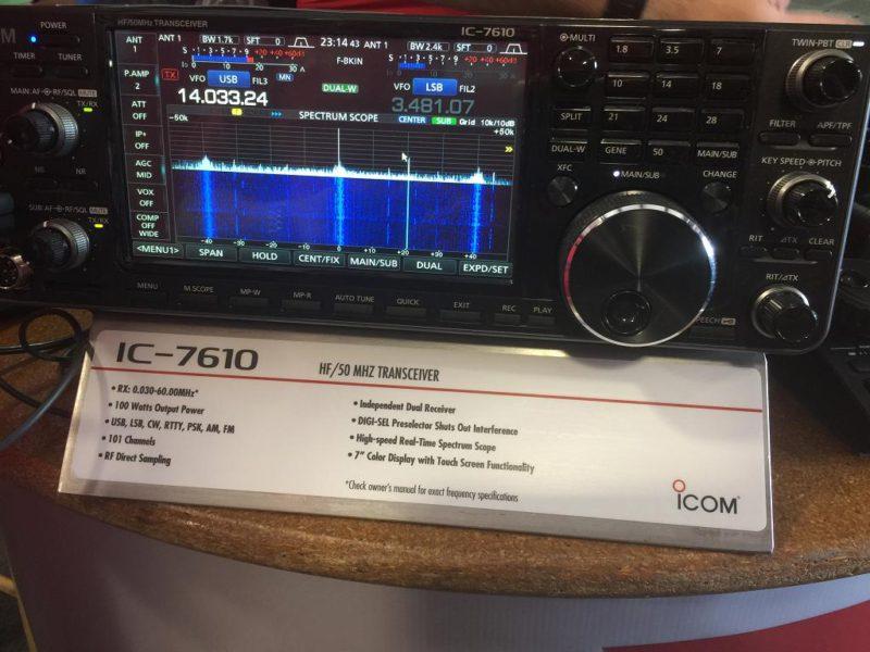 Icom 7610 at the Dayton Hamvention