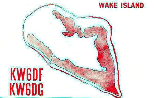 Wake Island QSL