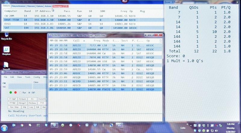 IT Test - Scoreboard Computer