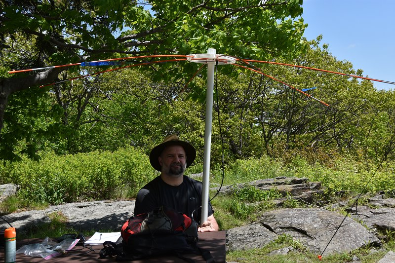 6M SOTA Station - Mike, AB1YK Portable 6M