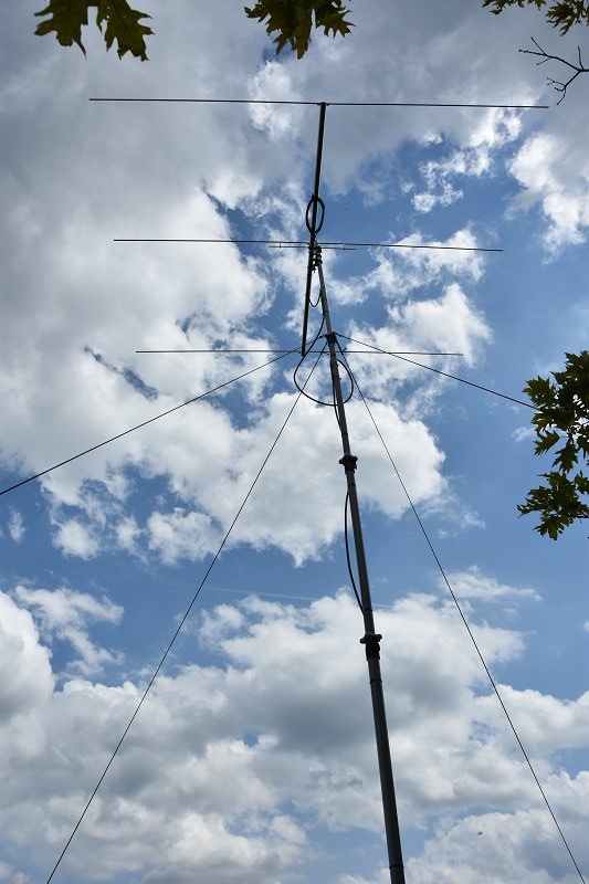 Portable 6M SOTA Station Antenna