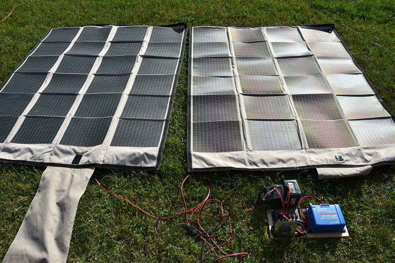 Field Day 2017 Solar Power Setup