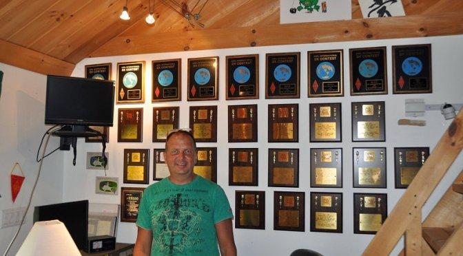 KC1XX Station - Matt and His Many Awards