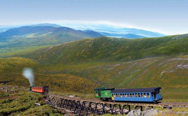 SOTA - The Mount Washington Cog Railway