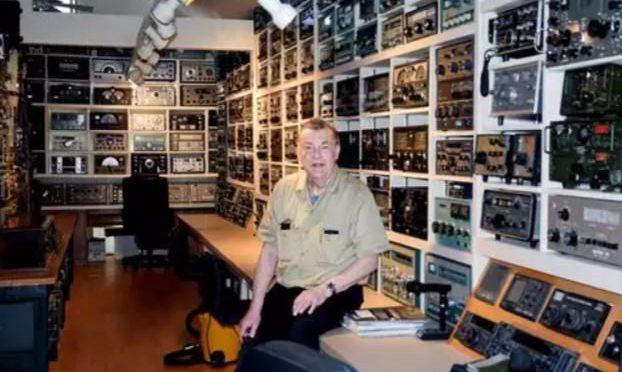 High frequency: Waves Connect Washington Island Ham Radio Collector with World