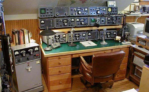 Ham Radio Desk Photos