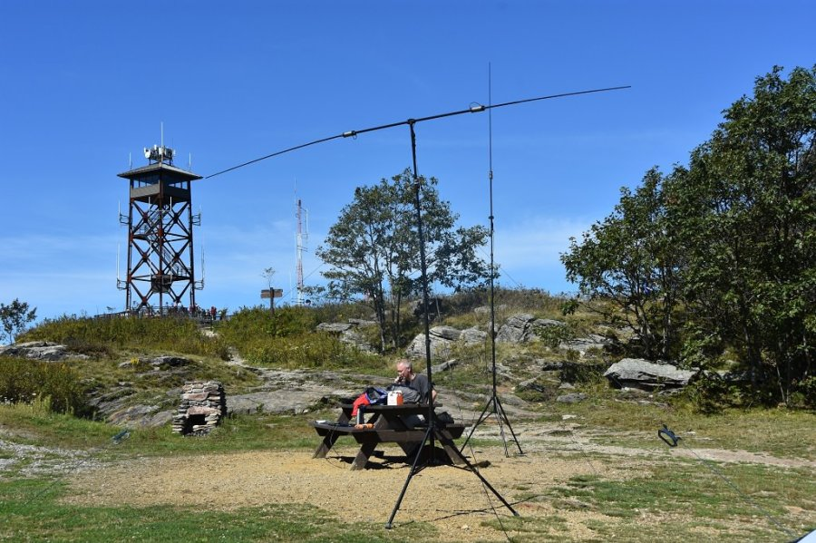 Antenna Farm on Mt. Wachusett