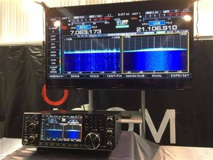 Icom IC-7610 External Display