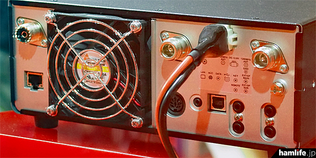 IC-9700 Rear Panel