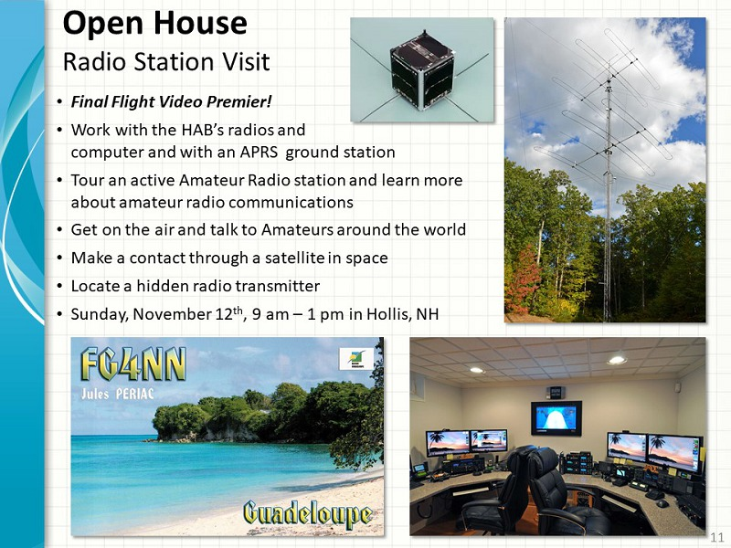 Amatuer Radio Open House