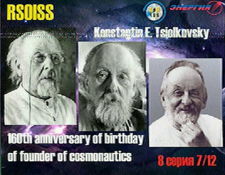 Another SSTV Image From The ISS