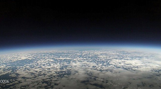 View from a High Altitude Balloon