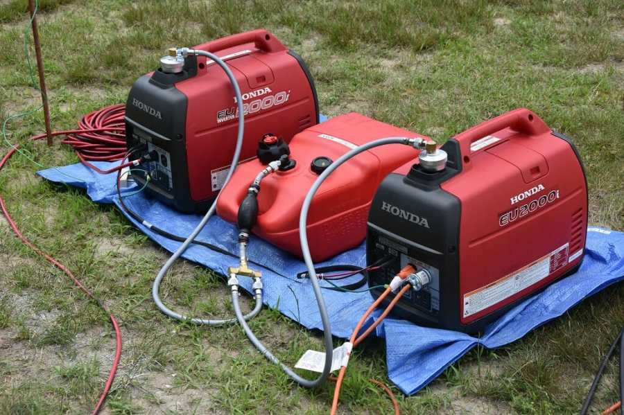 Generator Power at Field Day