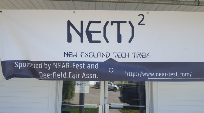 Sights from the New England Tech Trek (NETT) at NEAR-Fest
