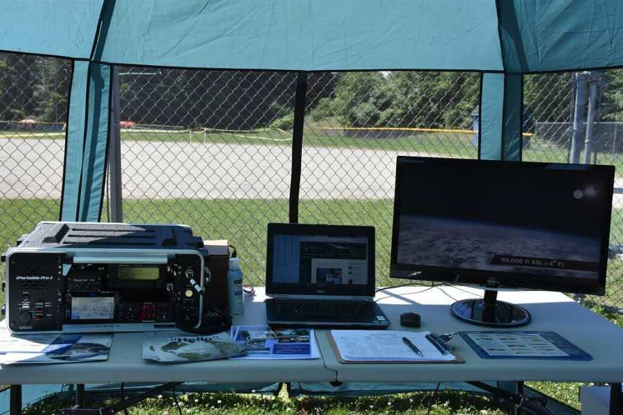 Field Day Public Info Tent