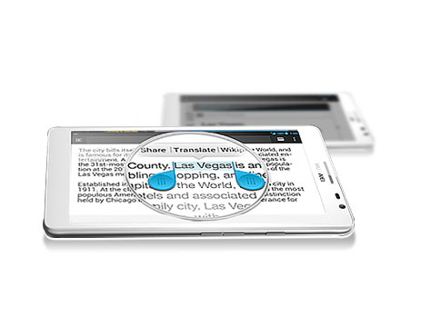 Huawei Ascend Mate Smart Reading