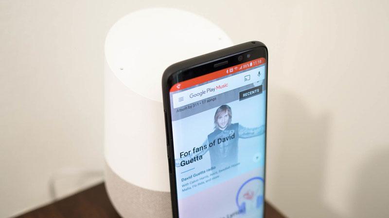 طريقة الاستماع إلى الملفات الصوتية و الموسيقى على جهاز Google Home نيوتك New Tech