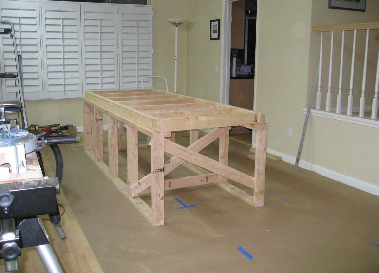 raised floor frame